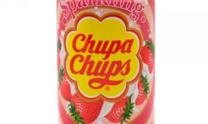 Безалкогольный газированный напиток Chupa Chups SPARKLING Strawberry Cream — «Chupa Chups  превратился в напиток