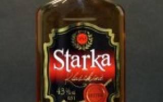 Напиток «Старка» – особенности и домашний рецепт ржаной водки