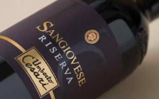 Обзор вина санджовезе