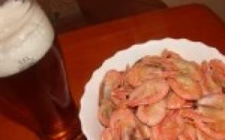 Как варить креветки к пиву – 3 лучших рецепта