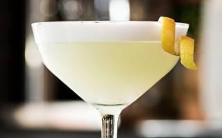 Рецепт приготовления коктейля Белая леди
