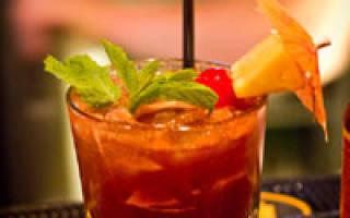 Пунш плантаторский (Planter — s Punch) — Рецепты алкогольных и безалкогольных коктейлей