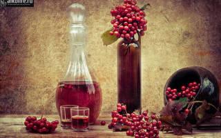 Настойка из калины: лучшие рецепты в домашних условиях
