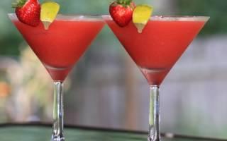 Клубничная — Маргарита — – 3 рецепта коктейля