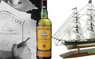 Виски Cutty Sark (Катти Сарк) – описание и виды марки