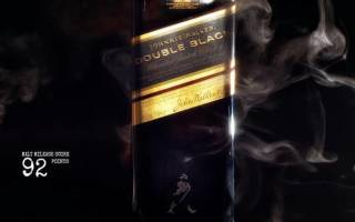 Обзор виски Johnnie Walker Double Black