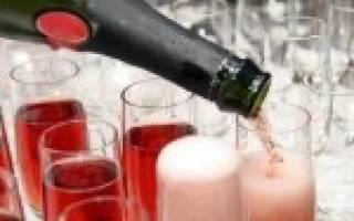 Розовое шампанское – аристократический напиток из Прованса