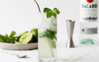 Алкогольный Мохито — рецепты с ромом, джином, водкой, сиропом и клубникой