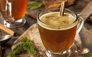 Горячий масляный ром (Hot Buttered Rum) – очень согревающий напиток