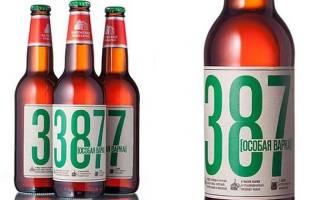 Обзор пива 387