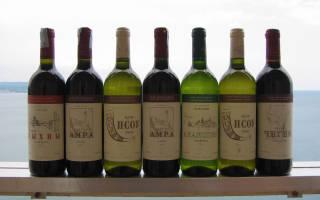 Вино Радеда — сухое красное Абхазское вино