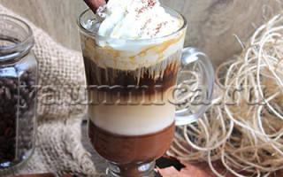 Кофейный коктейль Мокко — рецепты приготовления — Пошаговые рецепты с фото