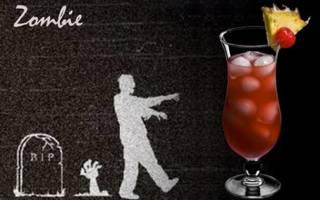 Рецепт приготовления коктейля Зомби