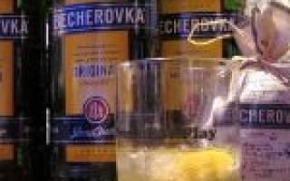 Коктейли с Бехеровкой – 12 простых рецептов для дома