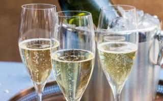 Сколько градусов может быть в шампанском