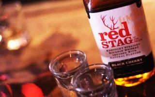 Бурбон jim beam red stag и его характеристики видео, Наливали