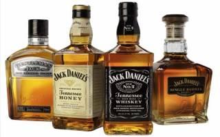 Настоящий виски Джек Дэниэлс – виды, состав, крепость и изготовление в домашних условиях