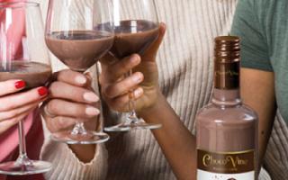 Шоколадное вино – как приготовить самостоятельно, как выбрать и где купить, производители