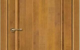 Межкомнатная дверь из массива ольхи Версаль ПГ (Медовый Орех)