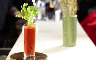Классический рецепт коктейля Кровавая Мэри (Bloody Mary)