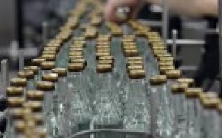 Технология производства водки на ликероводочных заводах