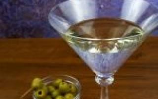 Мартини с оливкой – рецепт, история и культура употребления