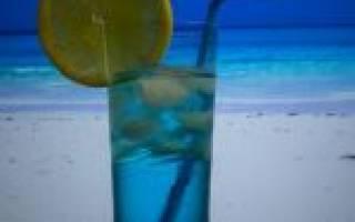 Коктейль «Голубая лагуна» – состав, рецепт, приготовление дома