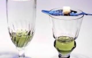 Как пить абсент – 7 правильных способов