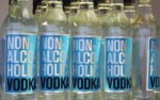 Безалкогольная водка – идея на миллионы или чей-то розыгрыш