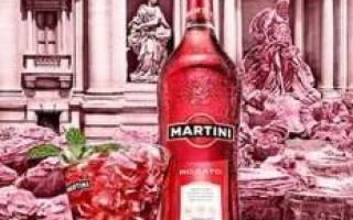 Искусство употребления вермута Мартини Розато
