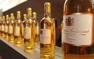 Обзор вина Сотерн