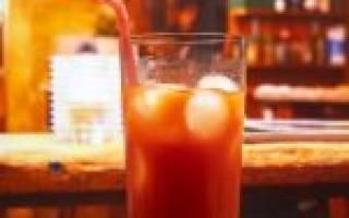 Коктейль Кровавая Мери – рецепт и технология приготовления