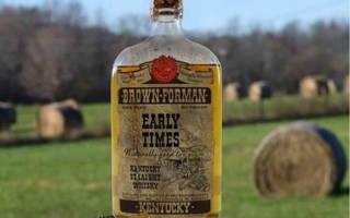 Обзор бурбона Early Times Ирли Таймс