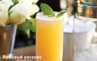 Классический рецепт коктейля Мимоза