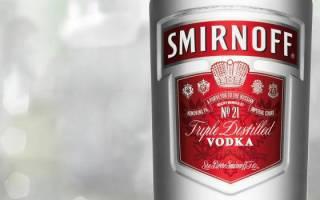 Водка «Смирнов» (Smirnoff): история бренда, обзор и виды напитка
