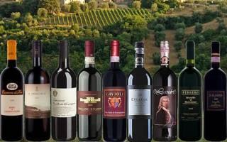 Обзор вин Тосканы