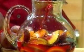 Лучшие рецепты сангрии в домашних условиях