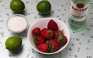 Клубничный дайкири — рецепт в домашних условиях с фото, ne-dieta