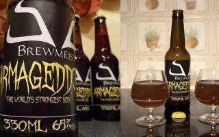 Пиво Армагеддон: обзор напитка