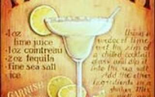 История одного из самых популярных коктейлей мира — Маргарита