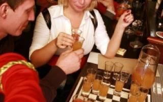 Игры с алкогольными напитками