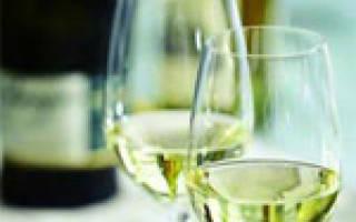 Простые коктейли с белым вином