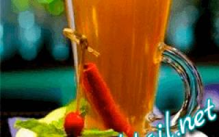 Коктейль Жидкий штрудель — Shake Cocktail