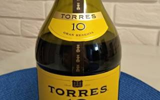 Бренди Torres 10 Gran Reserva (Торрес 10 лет)
