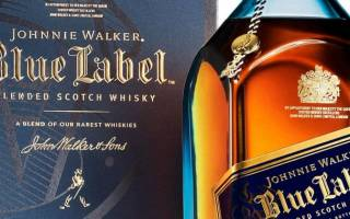 Обзор виски Johnnie Walker Blue Label (Джонни Уокер Блю Лейбл)