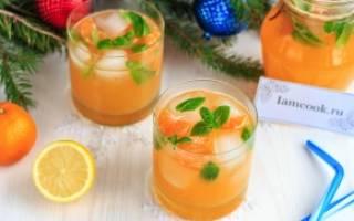 Летний лимонад из 7 мандаринов и 1 лимона