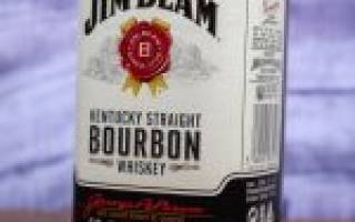 Виски Jim Beam (Джим Бим) – описание и виды бурбона