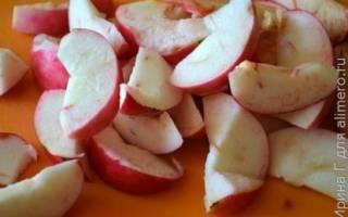 Яблочно-абрикосовый безалкогольный глинтвейн, рецепты с фото