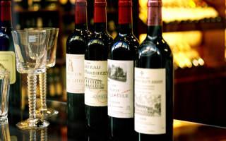 Вино Бордо: классификация, обзор вкуса, как пить известные марки