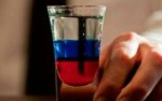 Коктейль «Российский флаг»: рецепт, состав, пропорции